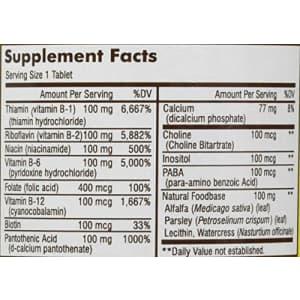 """Mason Vitamins Ultra B 100 Complex All Eleven""""B"""" Factors Tablets, 60 Count for $8"""