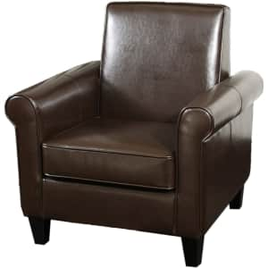 Christopher Knight Home Freemont Bonded Leather Club Chair for $313