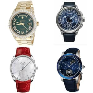 Used Luxury Watches at eBay: Up to 75% off