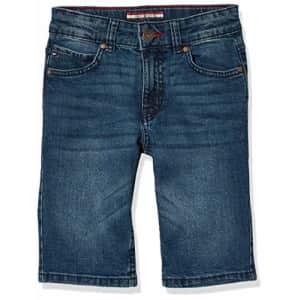 Tommy Hilfiger Boys' Stretch Denim Short, Portola, 6 for $24