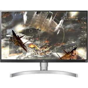 "LG 27"" 4K UHD LED Monitor for $327"