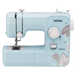 Brother 17-Stitch Portable Full-Size Sewing Machine for $76