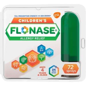 Flonase Children's Allergy Relief Nasal Spray for $6
