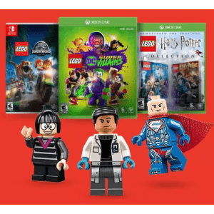 LEGO Video Games at GameStop: for $20 or less + free LEGO Minifigure