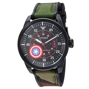 Citizen Men's Marvel Captain America Eco-Drive Watch for $244