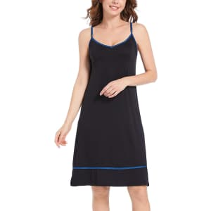 Culayii Women's Nightgown for $12