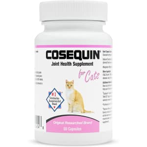 Cosequin Joint Health Supplement for Cats 80-Capsule Bottle for $17