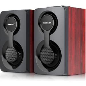 Insmart Wired Bluetooth Computer Speakers for $14