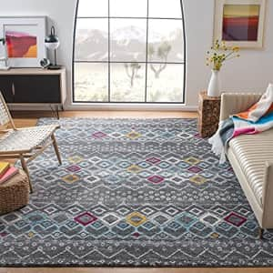 Safavieh Amsterdam Collection AMS108H Moroccan Boho Non-Shedding Stain Resistant Living Room for $97