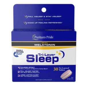 Sleep and Relaxation Supplements at Puritan's Pride: Buy One, Get Two free