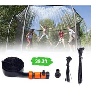 Landrip 39.3-ft. Trampoline Sprinkler for $8