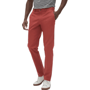 Banana Republic Factory Men's Mason Athletic-Fit Stretch Chino Pants for $17 in cart