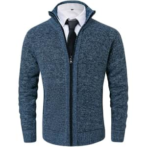 Vcansion Men's Classic Soft Knitted Cardigan from $20