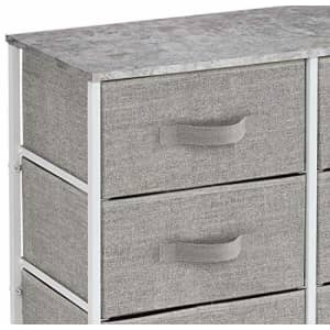 Sorbus Dresser with 8 Drawers - Furniture Storage Chest Tower Unit for Bedroom, Hallway, Closet, for $71