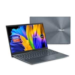 ASUS ZenBook 13 OLED Ultra-Slim Laptop, 13.3 OLED FHD NanoEdge Bezel Display, AMD Ryzen 5 5500U, for $800