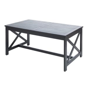 Noble House Cristian Outdoor Acacia Wood Coffee Table for $88