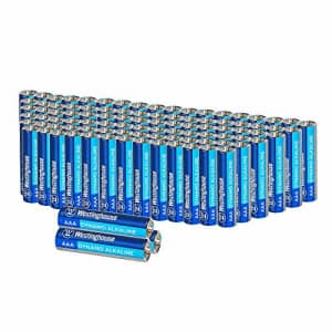 Westinghouse Alkaline AAA Batteries (Bulk Pack 96 Count), Leak-Proof & Long-Lasting Technology for $29