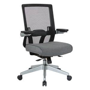 Office Star 867 Series Adjustable Manager's Chair with Breathable Mesh Back, Lumbar Support and for $404