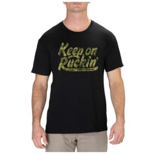 5.11 Tactical Men's Keep On Ruckin' T-Shirt for $12