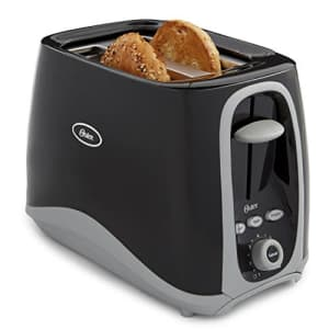 Oster 2-Slice Toaster, Black (006332-000-000) for $34