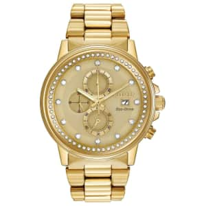 Citizen Eco-Drive Chronograph 42mm Watch for $153