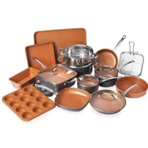 Gotham Steel 20-Piece Cookware + Bakeware Set for $120