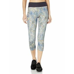 SHAPE activewear Women's s Capri, Cliff Print, X-Small for $26