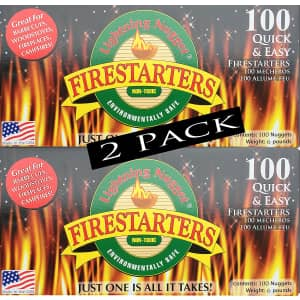 Lightning Nuggets 200-Count Fire Starters for $49