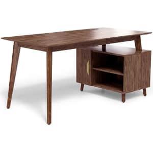 "Union & Scale MidMod 60"" Storage Desk for $200"