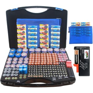 Rigicase 250-Battery Storage Case w/ Tester for $22