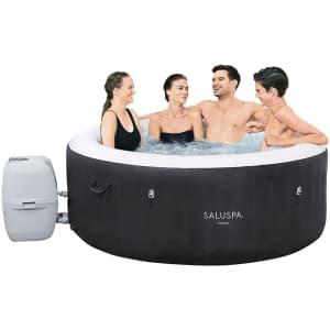 Bestway SaluSpa Miami 4-Person Hot Tub for $433