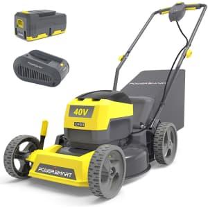 PowerSmart Cordless Lawn Mower for $260