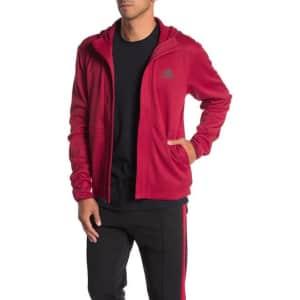 adidas Men's Full-Zip Hoodie for $26