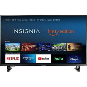 """Insignia NS-32DF310NA19 32"""" 720p LED HD Smart Fire TV for $130"""