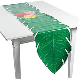 Fun Express LUAU LEAF TABLE RUNNER - Party Supplies - 1 Piece for $7
