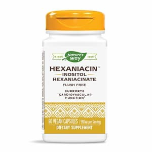 Nature's Way HexaNiacin Inositol Hexaniacinate 590 mg Potency Flush-Free, 60 VCaps for $20