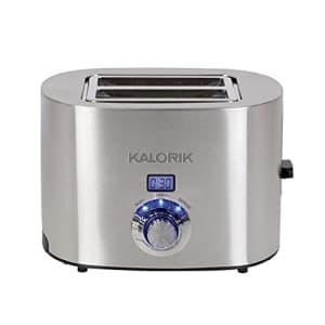 Kalorik Brookstone Digital 2-Slice Toaster, Stainless Steel for $86