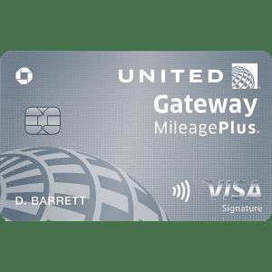 United Gateway℠ Card: Earn 20,000 bonus miles