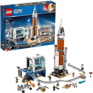 LEGO City Space Deep Space Rocket & Launch Control Kit for $80
