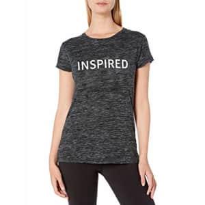 SHAPE activewear Women's Dancers Tee, Black/Inspire, S for $7