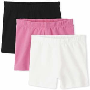 The Children's Place Toddler Girls Cartwheel Shorts 3-Pack, in The Pink, 5T for $13