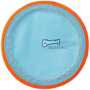 ChuckIt! Paraflight Flyer Dog Toy for $5