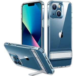 ESR Metal Kickstand Case for iPhone 13 for $11