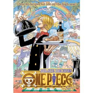 One Piece Pirate Recipes Hardcover Book: preorders for $17
