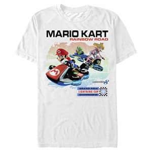Nintendo Men's T-Shirt, White, x-Large for $13