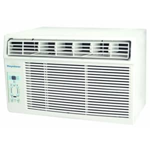 Keystone 6,000 BTU Window-Mounted Air Conditioner with Follow Me LCD Remote Control, White for $210
