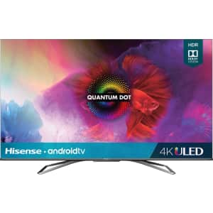 Hisense 65-Inch Class H9 Quantum Series Android 4K ULED Smart TV with Hand-Free Voice Control for $1,200