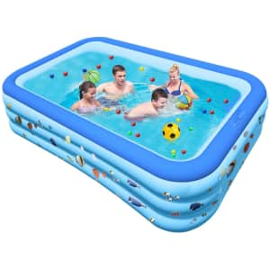 Inflatable Swimming Pool for $30
