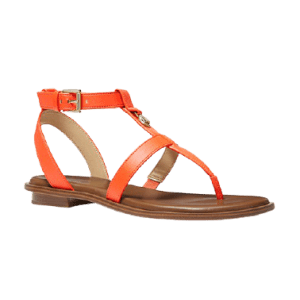 Michael Michael Kors Women's Sasha T-Strap Sandals for $49
