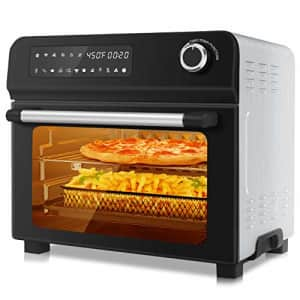 KBS 10-in-1 Toaster Oven with Rotisserie, 1700W Air Fryer Combo for Dehydrate Bake Broil Roast Toast, for $119